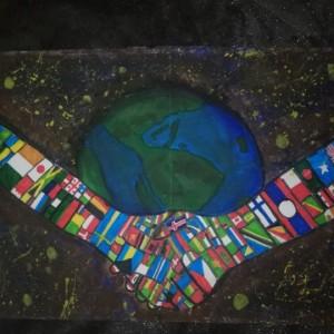 """Obrazek newsa SUKCES w  XIX Międzynarodowym Konkursie Plastycznym """"Darujmy światu pokój"""