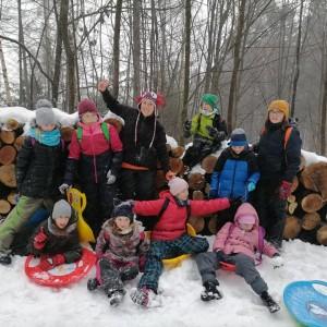Obrazek galerii Zimowa wycieczka na Dębowiec i do Wapienicy