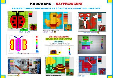 """Obrazek galerii KOŁO KOMPUTEROWE ONLINE - NASZE WIRTUALNE AKTYWNOŚCI W """"TEAMS"""" /2020/2021/"""