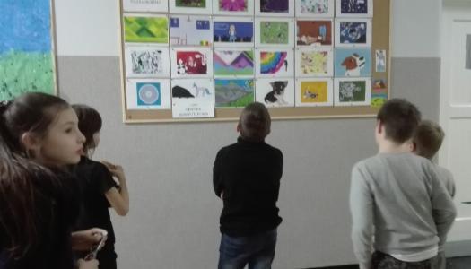 Obrazek newsa Wernisaż prac dzieci z koła grafiki komputerowej