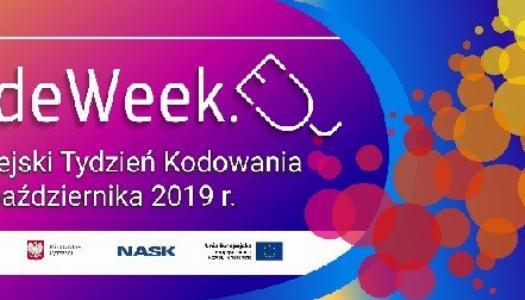 Obrazek newsa EU Code Week 2019 czyli Europejski Tydzień Kodowania