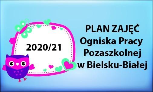 Obrazek newsa PLAN ZAJĘĆ  na rok szkolny 2020/21